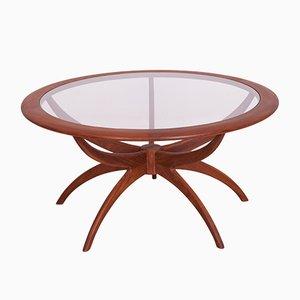 Table Basse Araignée Ronde en Teck par Victor Wilkins pour G-Plan, années 60