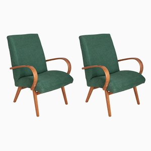 Model 53 Armchairs by Jaroslav Smidek for TON, 1960s, Set of 2
