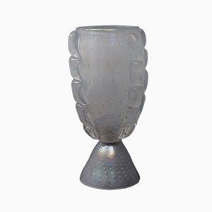 Tischlampe aus geblasenem Muranoglas von Barovier & Toso, 1950er