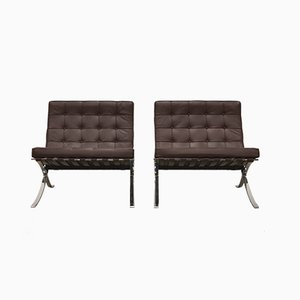Sessel von Ludwig Mies van der Rohe für Knoll Inc. / Knoll International, 1990er, 2er Set