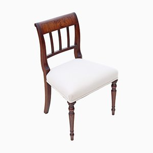 Antique Georgian Mahogany Dining Chairs, 1820s, Set of 4