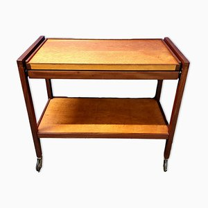 Extendable Teak Drinks Trolley, 1960s