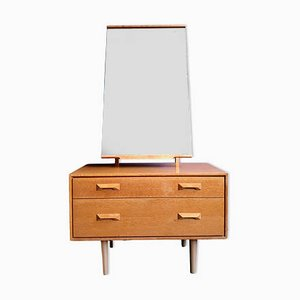 Stag Dresser and Mirror by John & Sylvia Reid, 1960s