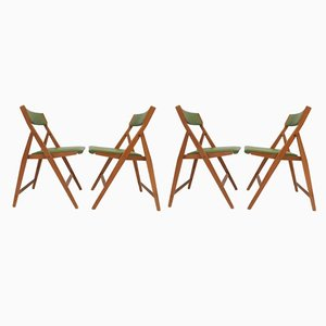 Folding Eden Side Chairs by Gio Ponti for Fratelli Reguitti, 1960s, Set of 4