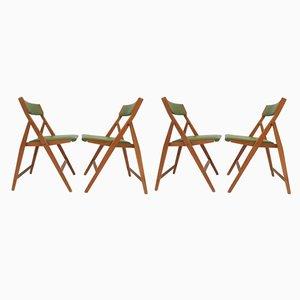 Klappbare Eden Beistellstühle von Gio Ponti für Fratelli Reguitti, 1960er, 4er Set