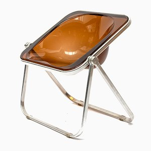 Plona Desk Chair by Giancarlo Piretti for Castelli, 1970s