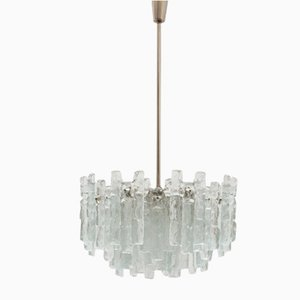 Large Austrian Soria Chandelier by J. T. Kalmar for Kalmar, 1968