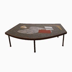 Table Basse en Mosaïque par Berthold Müller, 1960s