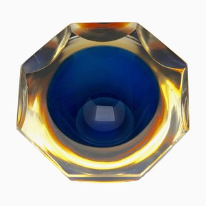 Cuenco de cristal de Murano de Flavio Poli, 1964
