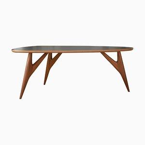 Mittelgroßer grauer Ted One Tisch von Greyge