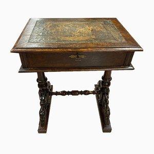 Table Basse Antique en Noyer, 1920s