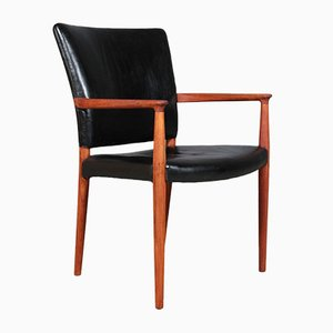 Model Pariser Cuban Mahogany Dining Chair by Jacob Kjær, 1930s