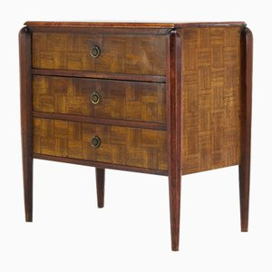 French Parquetry Dresser, 1930s