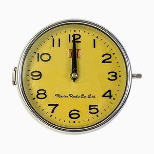 Reloj de barco de Marine Radio Co ltd, años 70