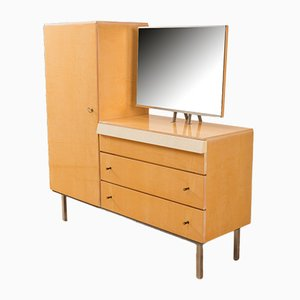 German Birch Veneer Dressing Table, 1950s