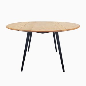 Round Extendable Dining Table by Lucian Ercolani for Ercol, 1960s