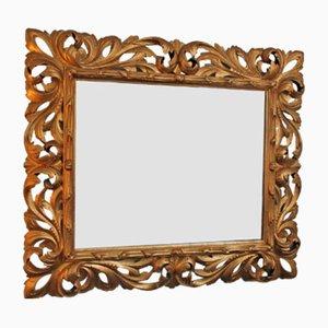 Vintage Spiegel mit goldfarbenem Rahmen
