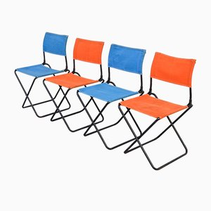 Chaises de Jardin, 1950s, Set de 4