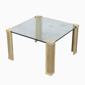 Tavolino da caffè quadrato T14 di Peter Ghyczy per Ghyczy, anni '70