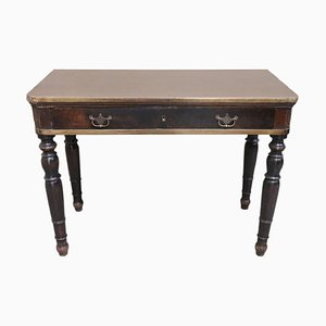 Antique Italian Walnut Desk, 1820s