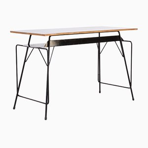 Industrial Desk by Willy van der Meeren for Tubax, 1950s
