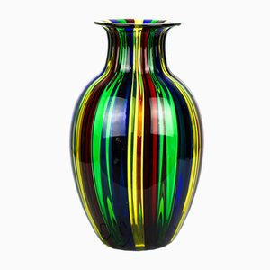 Multicolour Blown Murano Glass Vase by Urban for Made Murano Glass, 2019