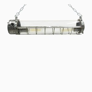 Industrial Tube Ceiling Lamp from Legrand, 1970s
