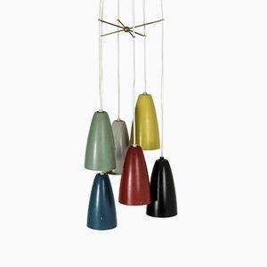 Ceiling Lamp by Hans Bergström for Ateljé Lyktan, 1950s