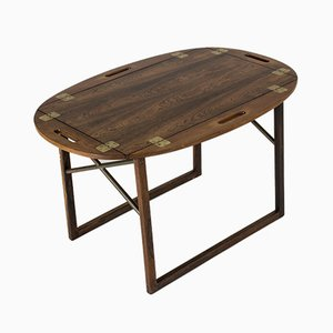 Rosewood Tray Coffee Table by Svend Langkilde for Langkilde Møbler, 1950s