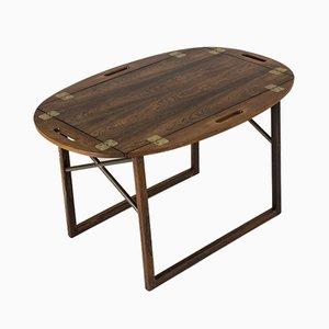 Table Basse avec Plateau en Palissandre par Svend Langkilde pour Langkilde Møbler, 1950s