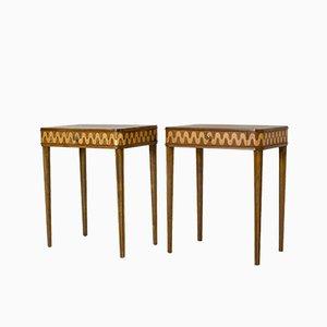 Tables d'Appoint de Nordiska Kompaniet, 1930s, Set de 2