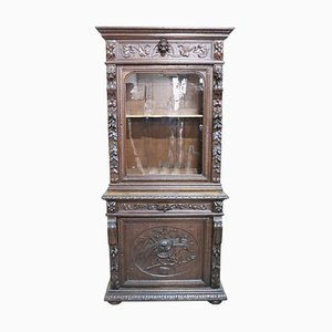 Antique Renaissance Style Oak Sideboard
