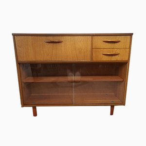 Teak Bookcase Cabinet from Avalon, 1960s