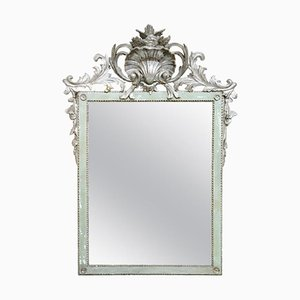Louis XVI Silver-Plated Wall Mirror, 1770s