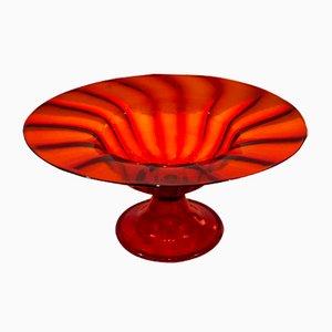 Murano Glass Vase by Vittorio Zecchin for Cappellin, 1920s