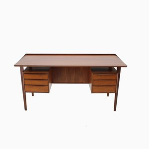 Teak Desk by Peter Løvig Nielsen, 1960s