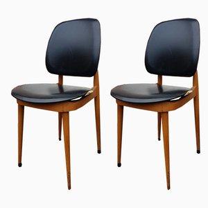 Chaises de Salle à Manger Modèle Pegase par Pierre Guariche, 1960s, Set de 2