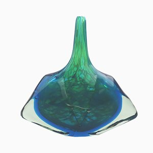 Glass Vase by Michael Harris for Mdina, 1980s
