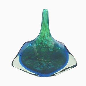 Glasvase von Michael Harris für Mdina, 1980er