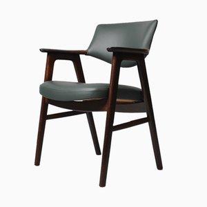 Chaise de Bureau en Palissandre par Erik Kirkegaard pour Høng Stolefabrik, 1950s