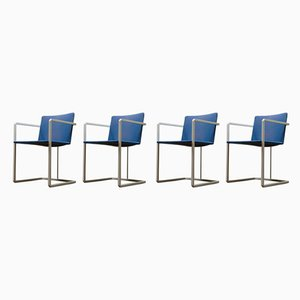 Esszimmerstühle, 1980er, 4er Set