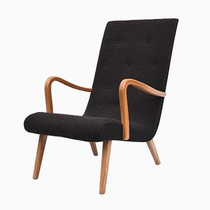 Danish Style High Back Lounge Chair, 1960s