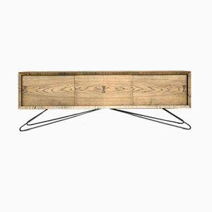 Scandinavian Ash Sideboard, 1960s