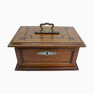 Antique Austrian Oak Box
