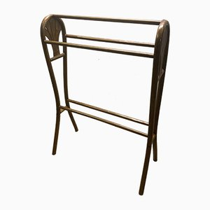 Antique Bentwood 24 Rack by Michael Thonet for Gebrüder Thonet Vienna GmbH