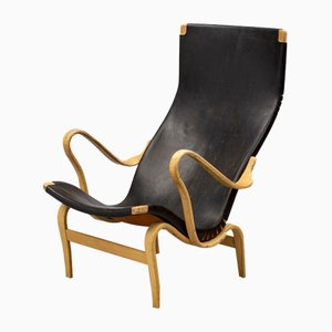 Pernilla Lounge Chair by Bruno Mathsson for Firma Karl Mathsson, 1960s