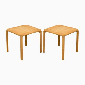 Oak Side Tables from Karl Andersson & Söner, 1950s, Set of 2