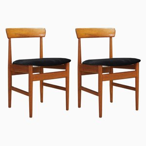 Vintage Danish Dining Chairs, Set of 2