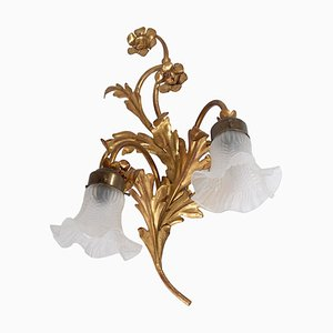 Vintage French Sconce, 1970s