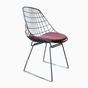 Mid-Century SM05 Beistellstuhl von Cees Braakman für Pastoe, 1950er